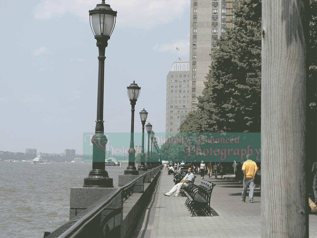 Battery Park before